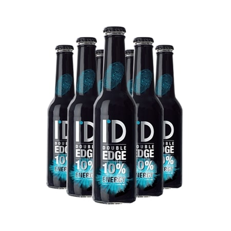 ID Double Edge Energy Bottle 275ml case