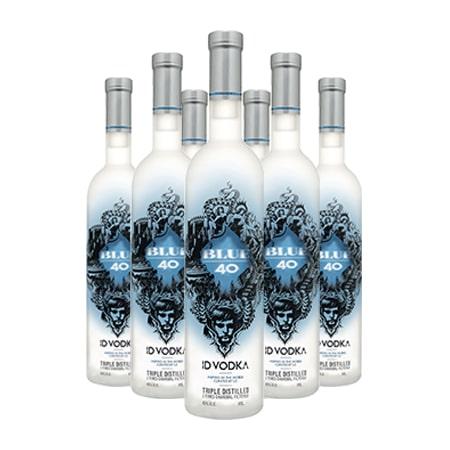 ID Vodka Blue 40 Bottle 500ml case