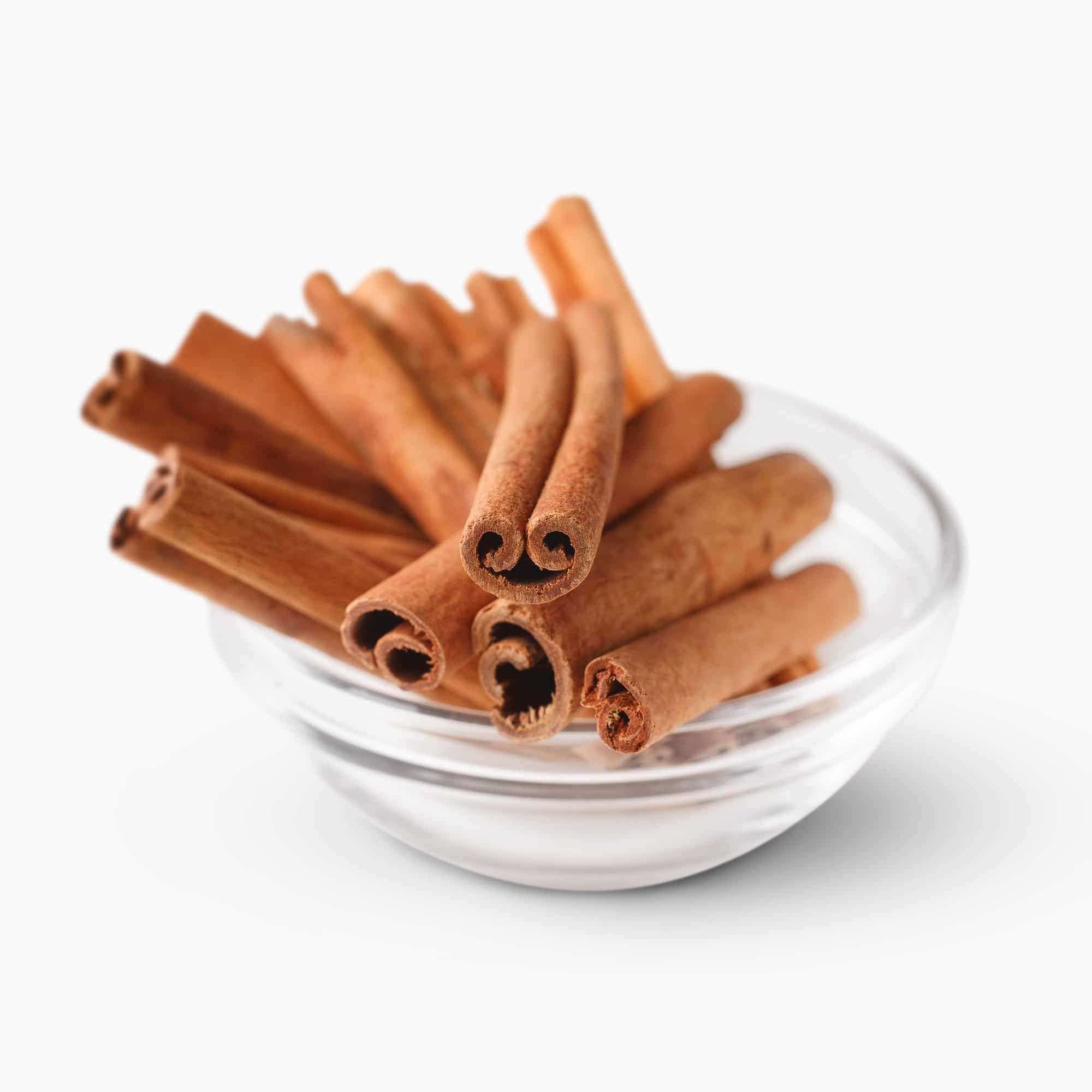 Bowl with cinnamon