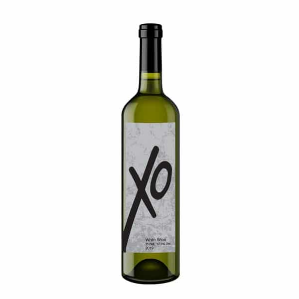 XO White Bottle