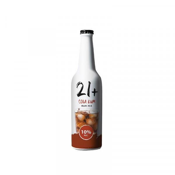 21plus cola rum Single